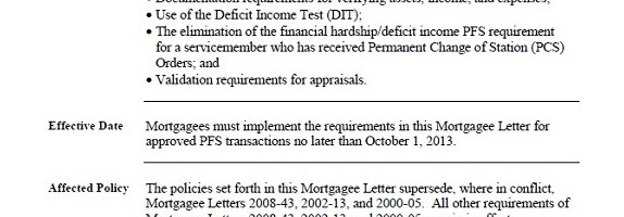 New FHA Short Sale and HUD Pre-Foreclosure Sale Program Guidelines - HUD Mortgagee Letter 2013-23