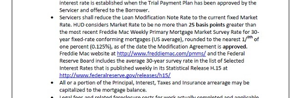 HUD FHA Loan Modification Option Facts 11-26-2013